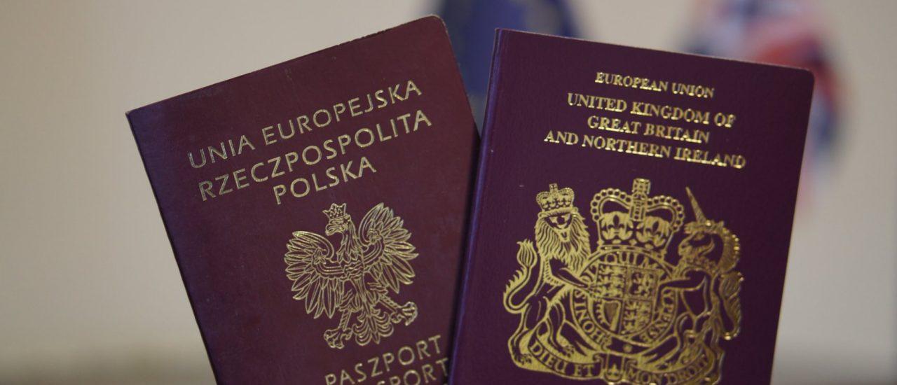Brexit co to oznacza dla obywateli Unii Europejskiej mieszkających w Wielkiej Brytanii?