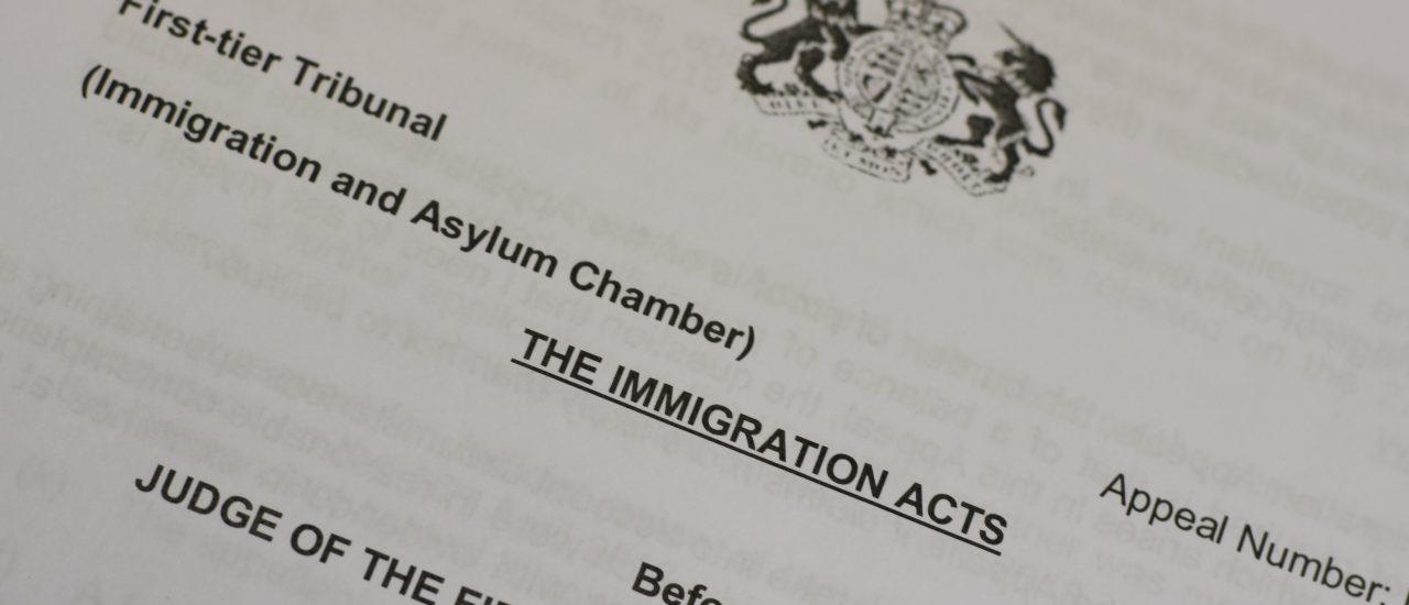 UK Visa & Immigration -First-tier Tribunal Appeals